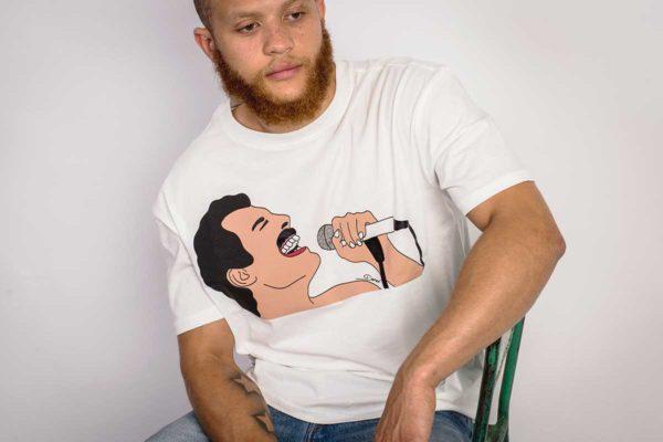 Dead Artist Society model: Freddie, Tributing the great Mercury